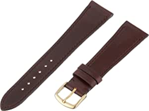 Hadley-Roma MS2050RC 200 20.0mm Dark Brown Horween Shell Cordovan Leather Watch Strap