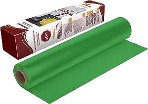 萤火虫工艺热转印乙烯基适合剪影和十字架,31.75 cm x 1.52 m 卷 Flocked Green 5' Roll