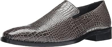 Stacy Adams 男士 Galindo 一脚蹬乐福鞋 灰色 14 M US