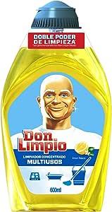 Don Limpio 清新柠檬 - 多用途清洁剂浓缩液,600毫升 - [8件装]
