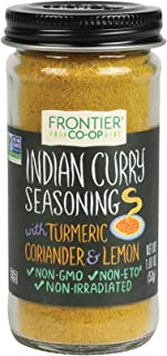 Frontier 调味料混合印度咖喱,1.87盎司(约53克)每瓶