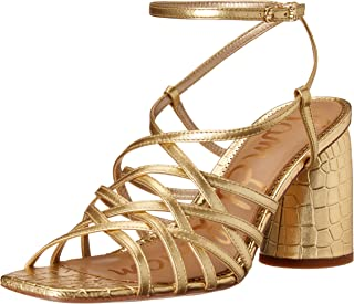 Sam Edelman Women's Strappy Block Heel Heeled-Sandals
