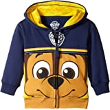 Nickelodeon Boys' Paw Patrol Chase Big Face Hoodie
