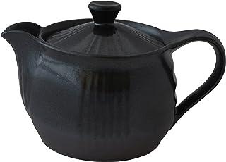万古烧 壶 2.0号 黑色 K11-54