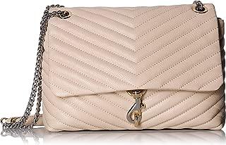 Rebecca Minkoff Women's Edie Flap Leather Shoulder Bag