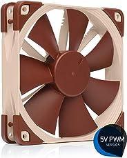Noctua NF-F12 5V PWM智能U12S风扇 12CM静音风扇 水冷排风扇