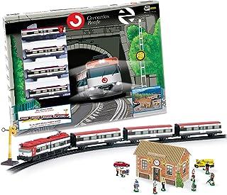 PEQUETREN Pequetren675 经典雷菲金属模型火车带灯和站