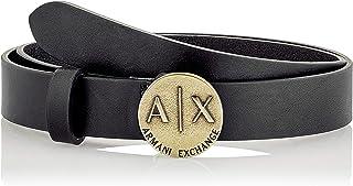 Armani Exchange 女士斑纹皮带