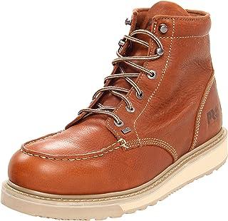 Timberland PRO 男士 Barstow 坡跟鞋底 工作靴