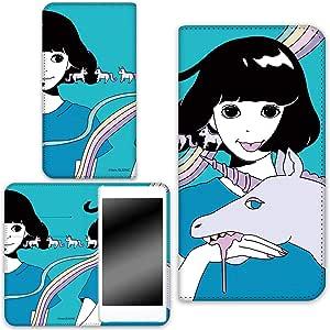 Hare . 保护套双面印花翻盖独角兽手机保护壳翻盖式适用于所有机型  ユニコーンC 7_ Huawei GR5 KII-L22