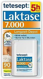 tetesept Laktase 7.000 Langzeit-Depot – Mit 4 Stunden Langzeit-Depot - kontinuierlicher Laktoseabbau in Magen & Darm - wir...