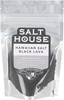 Pacifica Hawaii Hawaiian Black Lava Sea Salt in Pouch 200 g