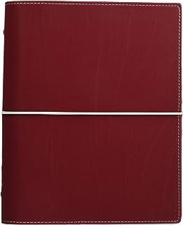 filofax 斐来仕 027872 Domino A5 酒红色 活页多功能记事本 笔记本 活页本日记本 万用手册 手账 2017年日程本