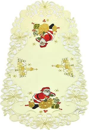 Bellanda 桌布,聚酯纤维,米色,85 x 40 x 0.5 厘米