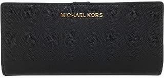 MICHAEL KORS 迈克高仕 Jet Set Travel 超薄双折压纹皮革钱包