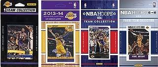 NBA 洛杉矶湖人队 4 个不同许可球队集集集换卡