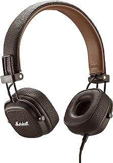 Marshall 马歇尔 Major III有线包耳式耳机,棕色-全新,6.3 x 6.3 x 3.4 英寸/约16x16x8.6厘米(4092184)