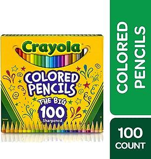 Crayola 绘儿乐 彩色铅笔 成人着色套装,礼品,100支
