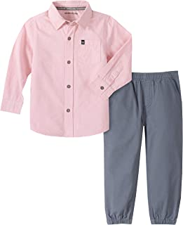 Calvin Klein 卡尔文·克莱恩 男童 衬衫&裤子 2件套