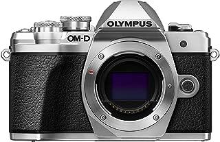 Olympus OM-D E-M10 Mark III Camera Body (Black), Wi-Fi Mappd, 4K VideoV207070SU000 Body Only 银色