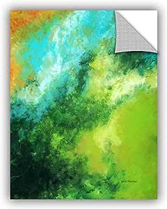 "ArtWall Herb Dickinson's Hawaiian Morning Z Art Appeelz Removable Graphic Wall Art, 14 x 18"""