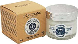 L'Occitane 欧舒丹 25%乳木果超保湿面霜,适合干性至极干性皮肤,1.7盎司(约48.19克)