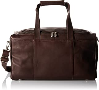 Piel Leather Traveler's Select X-Small Duffel Bag, Chocolate, One Size