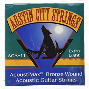 Austin City ACA-11 原声吉他弦,超轻