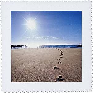 QS 72204danita delimont–footprints–沙色 footprints ABEL tasman national park-au01dwa2064–David WALL–方块拼布