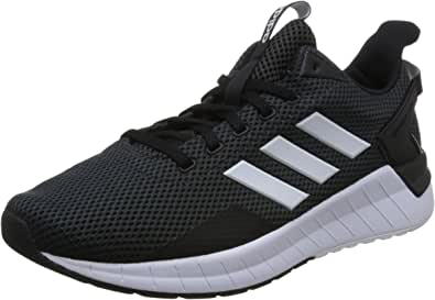 adidas 阿迪达斯 男 跑步鞋 QUESTAR RIDE DB1346 一号黑/FTWR 白/碳黑 S18 40 (UK 7)