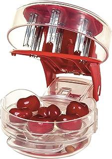 Progressive 生产的 Prepworks 厨具:樱桃去核器 - 每次能为 6 颗樱桃去核