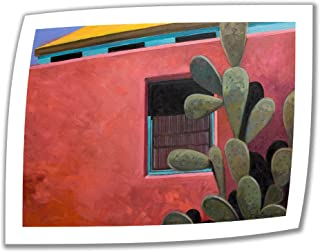 Art Wall Adobe Color 18 by 22-Inch Unwrapped Canvas Art by Rick Kersten with 2-Inch Accent Border