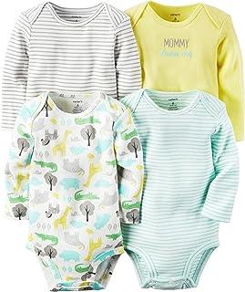 Carter ' s 婴儿4件装紧身衣(婴儿) Multicolor/Pattern 6 个月