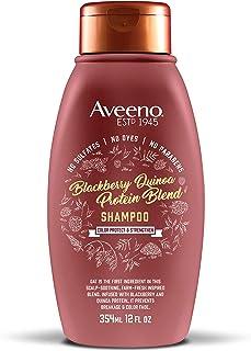 Aveeno 艾惟诺 护色&强韧洗发露 黑莓和藜麦(12盎司/354ml)