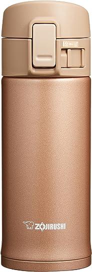 象印 保温杯 直饮杯 不锈钢 360ml 玫瑰金 SM-KC36-NM 宽6.5x深7x高18.5 cm