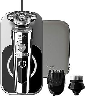 Philips 飞利浦 9000 系列 SP9863/14 精品 电动剃须刀 无线充电 Qi +洁面刷 + 胡须造型器 (法国/意大利版)