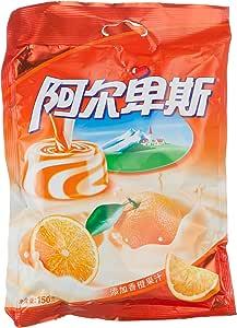 阿尔卑斯鲜橙牛奶硬糖150g