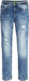 s.Oliver 男童长裤,青少年男孩牛仔裤 蓝色 152 /SLIM