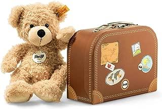 Steiff 111471 泰迪熊Fynn与小行李箱 米色 约28cm