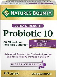 Nature's Bounty 自然之宝 益生菌10膳食补充剂,60粒胶囊