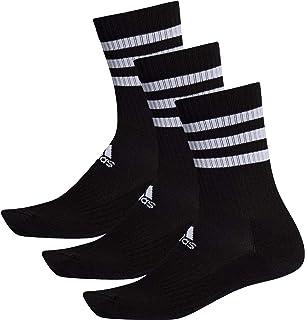 adidas 阿迪达斯 3 双条纹垫水手袜