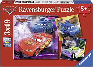 Ravensburger 睿思 拼图 迪斯尼系列 在跑道上3x49片 R093052