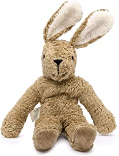 Senger Stuffed Animals - Bunny - Handmade 100% Organic Toy (White/Beige - 12 Inches Tall)