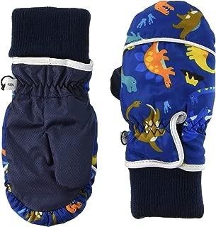 TAKIHIO 防寒手套 333560929 男童 恐龙蓝 日本 5-6 (日本サイズ110相当)
