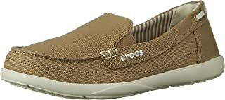 crocs Women's Walu Canvas Loafer