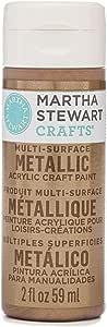 Martha Stewart 2 盎司丙烯酸金属漆 Rose Copper MS329M-33002