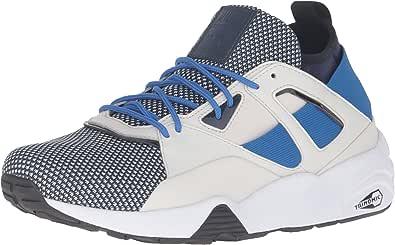 PUMA 男士 B.O.G Sock Tech 交叉训练鞋 Peacoat-glacier 灰色 7