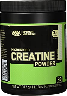 Optimum Nutrition 微粉化肌酸粉,肌酸一水合物配方,原味,88份,317g