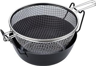 橡胶制品 铁炸锅组合 黑色 28cm LB-090