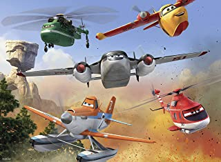 Ravensburger Disney 飞机总动员火线救援:消防 - 100 片儿童*拼图 - 每片都是*的,完美贴合在一起